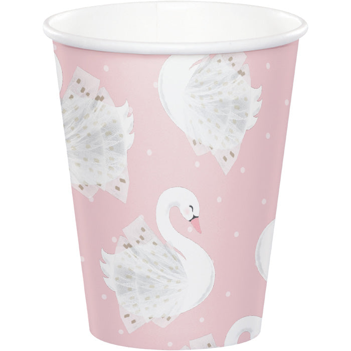 Stylish Swan Paper Cups, Pack Of 8 by Creative Converting