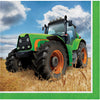 Tractor Time Beverage Napkins, 16 ct by Creative Converting