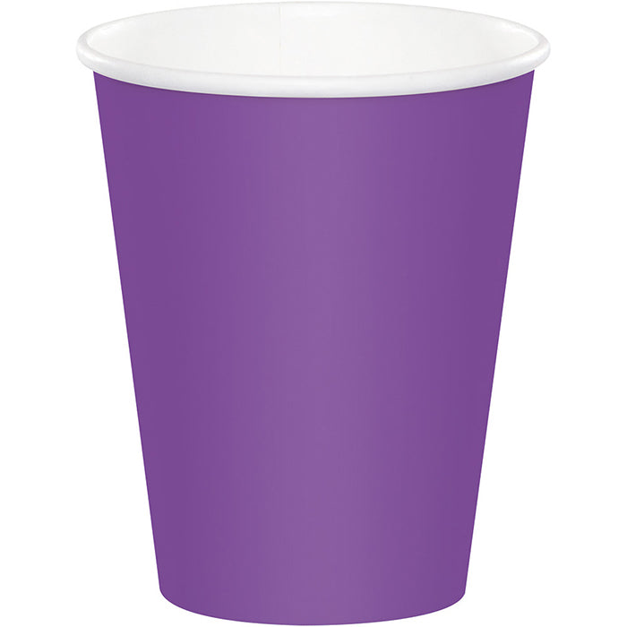 Amethyst Hot/Cold Paper Cups 9 Oz., 24 ct by Creative Converting