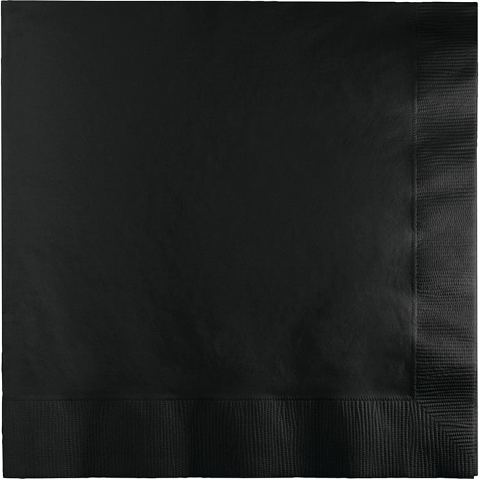 Black Velvet Luncheon Napkin 3Ply, 50 ct by Creative Converting