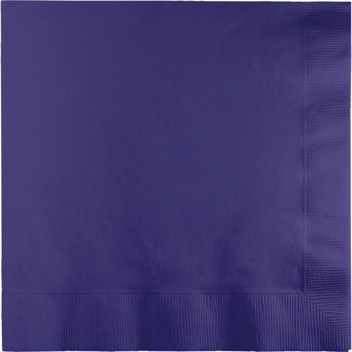Purple Luncheon Napkin 2Ply, 50 ct by Creative Converting