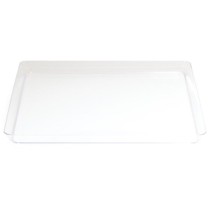 "Clear Plastic Tray 11.5"" by Creative Converting"