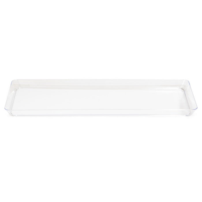 "Clear Plastic Tray 6"" X 15.5"" by Creative Converting"