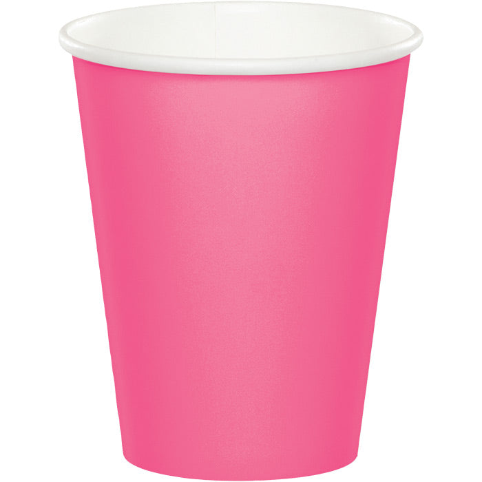 Candy Pink Hot/Cold Paper Cups 9 Oz., 24 ct by Creative Converting