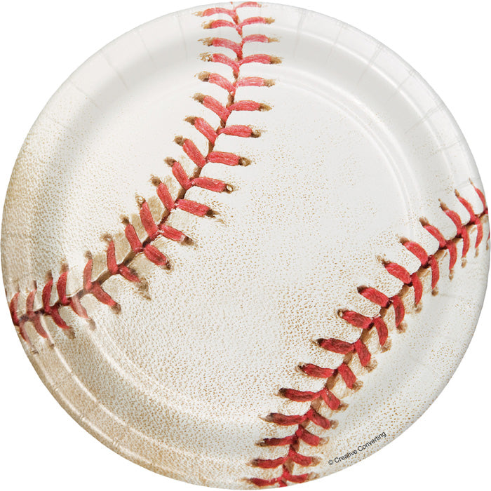 Baseball Dessert Plates, 8 ct by Creative Converting