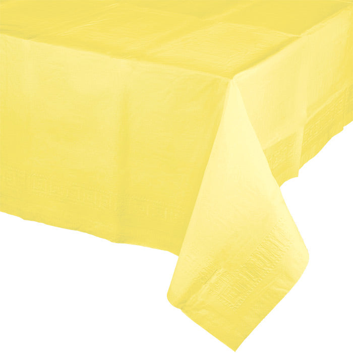 "Mimosa Tablecover 54""X 108"" Polylined Tissue by Creative Converting"