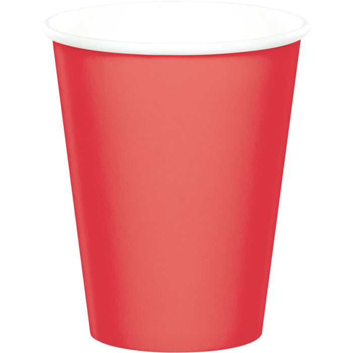 Coral Hot/Cold Paper Cups 9 Oz., 24 ct by Creative Converting