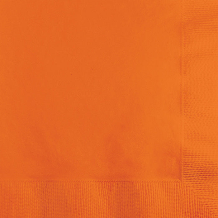 Sunkissed Orange Napkins, 20 ct by Creative Converting