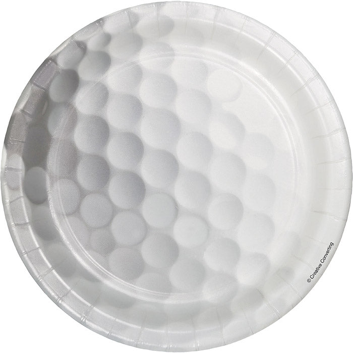 Golf Dessert Plates, 8 ct by Creative Converting