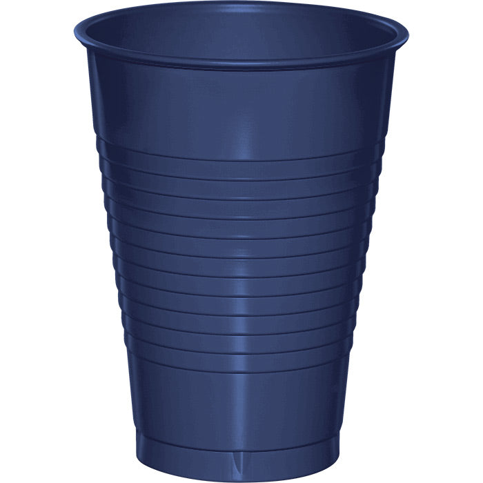 Navy Blue 12 Oz Plastic Cups, 20 ct by Creative Converting