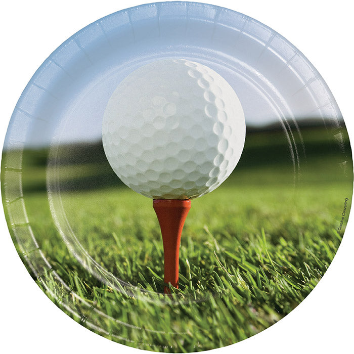 Golf Paper Plates, 8 ct by Creative Converting