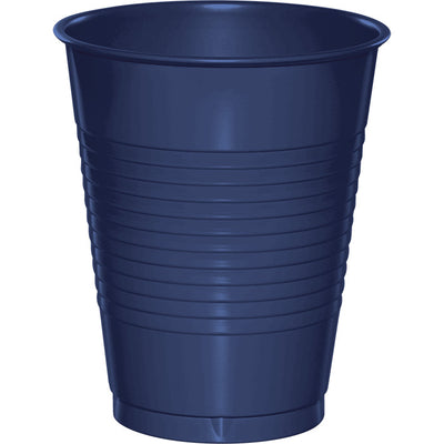 Navy Blue Plastic Cups, 20 ct by Creative Converting