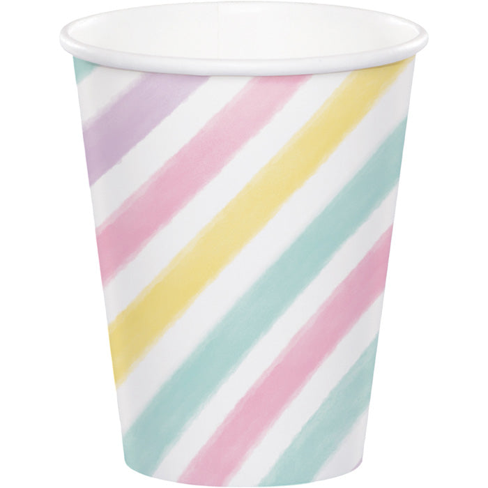 Unicorn Sparkle Hot/Cold Paper Paper Cups 9 Oz., 8 ct by Creative Converting