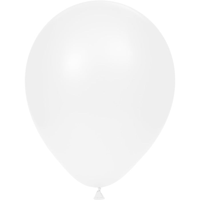 "Latex Balloons 12"" White, 15 ct by Creative Converting"