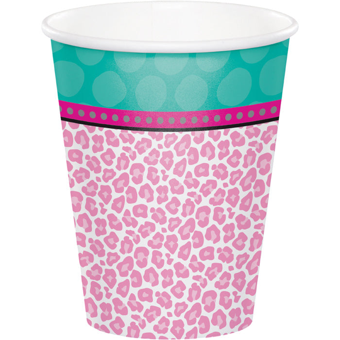Sparkle Spa Party! Hot/Cold Paper Paper Cups 9 Oz., 8 ct by Creative Converting