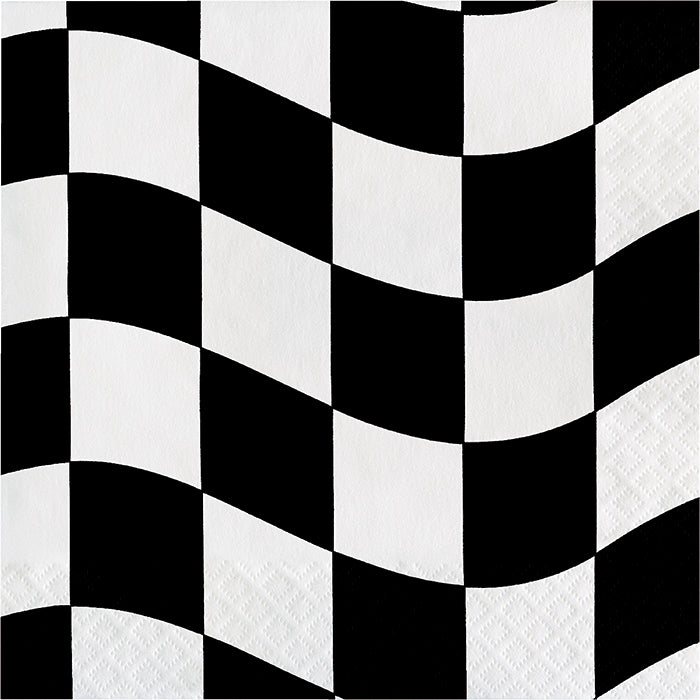 Black And White Check Napkins, 18 ct by Creative Converting