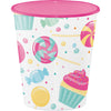 Candy Bouquet Plastic Cups, 12 Oz by Creative Converting