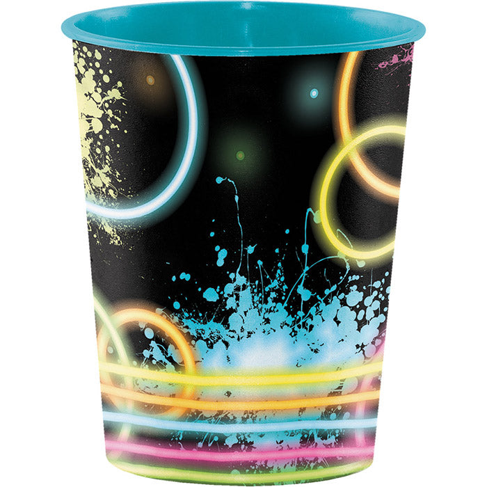 Glow Party Plastic Keepsake Cup 16 Oz. by Creative Converting