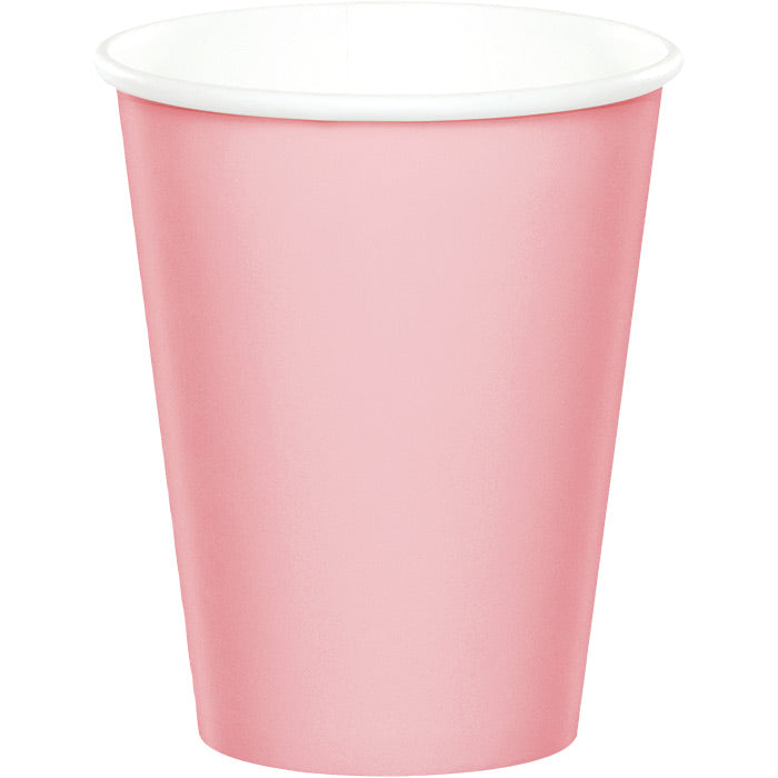 Classic Pink Hot/Cold Paper Cups 9 Oz., 24 ct by Creative Converting
