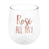 Rose' All Day 14 Oz Stemless Wine Glass by Creative Converting