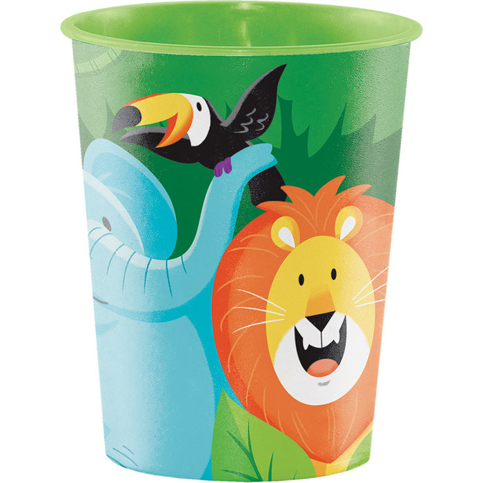 Jungle Safari Plastic Keepsake Cup 16 Oz. by Creative Converting
