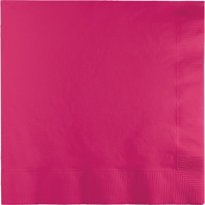 Hot Magenta Luncheon Napkin 2Ply, 50 ct by Creative Converting