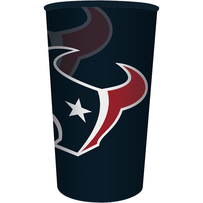 Houston Texans Plastic Cup, 22 Oz by Creative Converting
