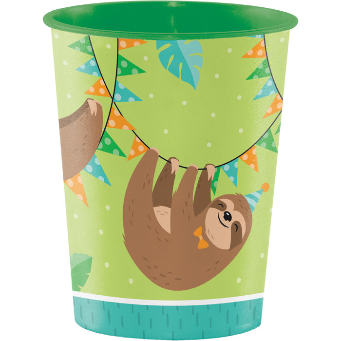 Sloth Party Plastic Cup by Creative Converting