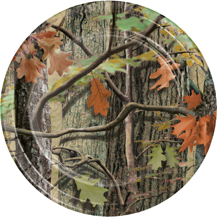 Hunting Camo Paper Plates, 8 ct by Creative Converting