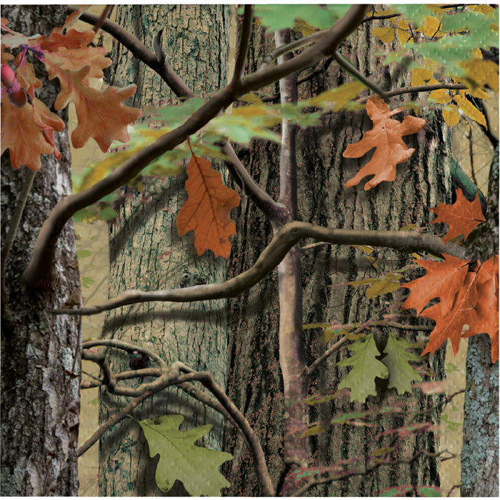 Hunting Camo Beverage Napkins, 18 ct by Creative Converting