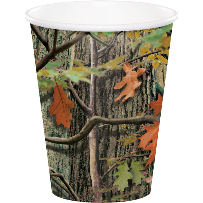 Hunting Camo Hot/Cold Paper Cups 9 Oz., 8 ct by Creative Converting