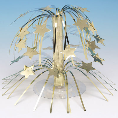 Gold Foil Cascading Centerpiece by Creative Converting
