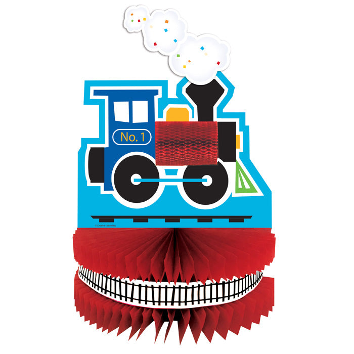 All Aboard Train Centerpiece by Creative Converting
