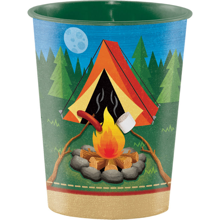 Camp Out Plastic Keepsake Cup 16 Oz. by Creative Converting
