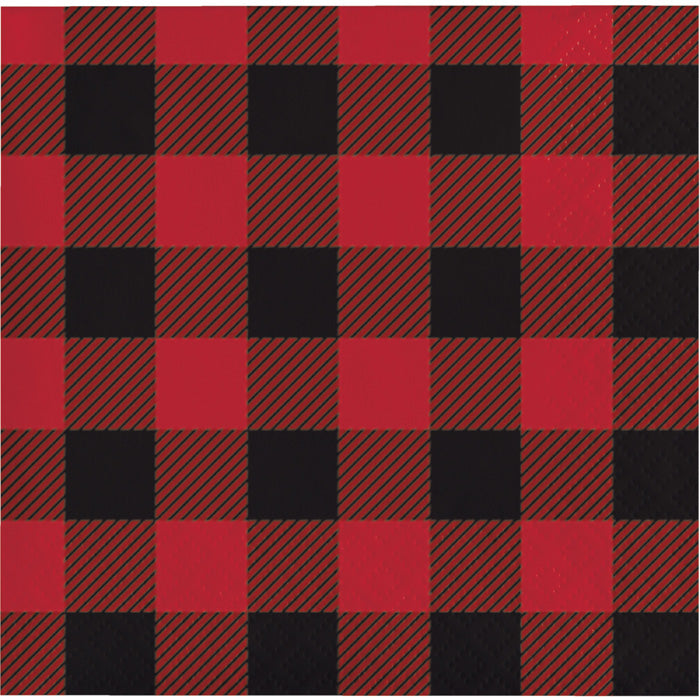 Buffalo Plaid Beverage Napkins, 16 ct by Creative Converting
