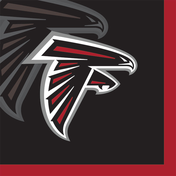 Atlanta Falcons Beverage Napkins, 16 ct by Creative Converting