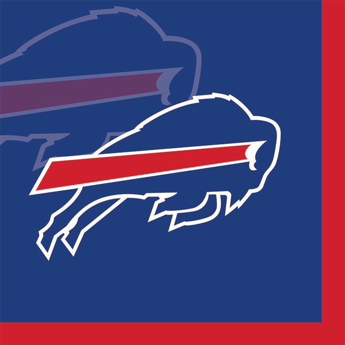 Buffalo Bills Beverage Napkins, 16 ct by Creative Converting