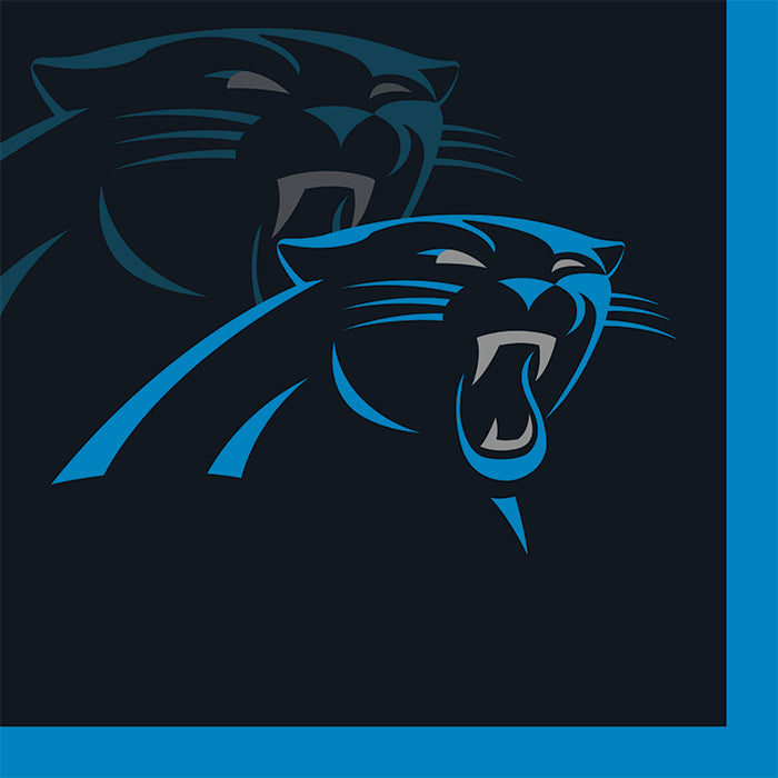 Carolina Panther Beverage Napkins, 16 ct by Creative Converting