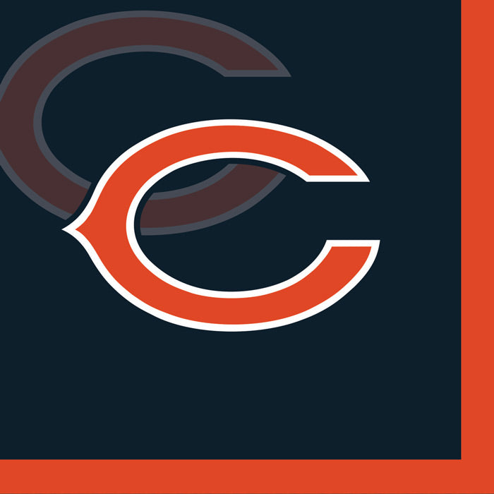 Chicago Bears Beverage Napkins, 16 ct by Creative Converting