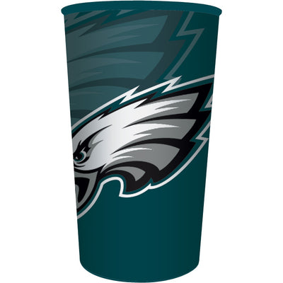 Philadelphia Eagles Plastic Cup, 22 Oz by Creative Converting