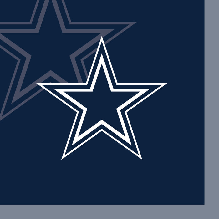 Dallas Cowboys Beverage Napkins, 16 ct by Creative Converting