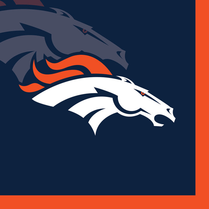 Denver Broncos Beverage Napkins, 16 ct by Creative Converting