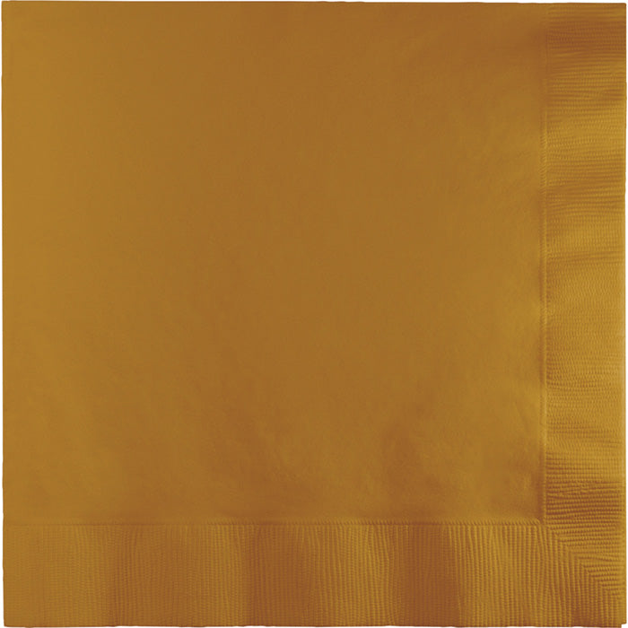 Glittering Gold Napkins, 20 ct by Creative Converting