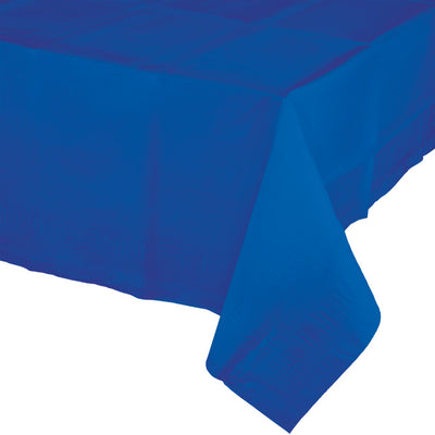 "Cobalt Tablecover 54""X 108"" Polylined Tissue by Creative Converting"