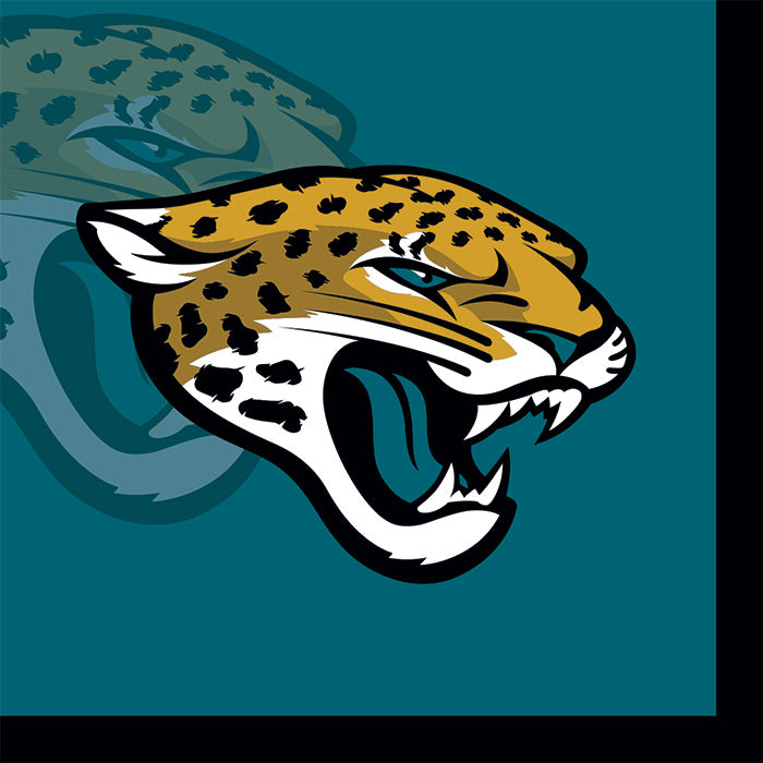 Jacksonville Jaguars Beverage Napkins, 16 ct by Creative Converting