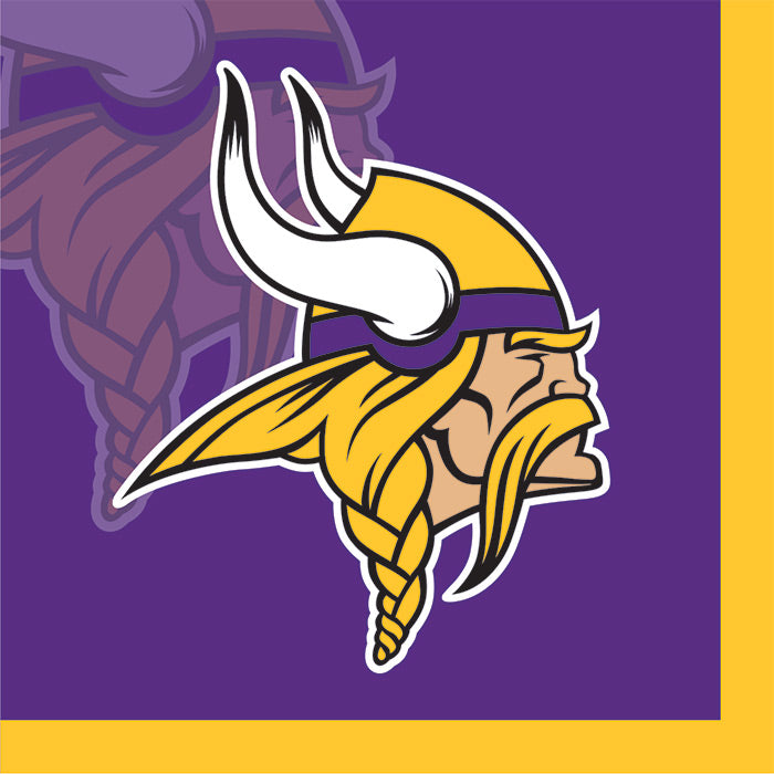 Minnesota Vikings Beverage Napkins, 16 ct by Creative Converting