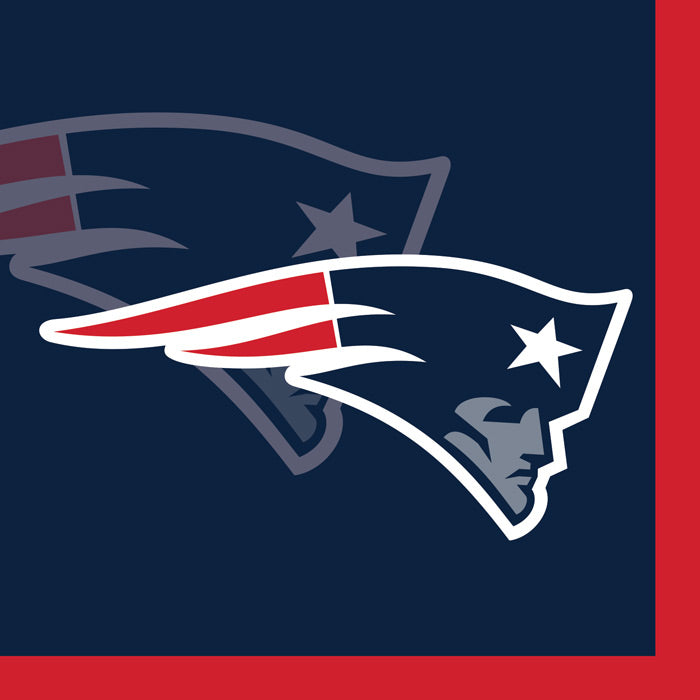 New England Patriots Beverage Napkins, 16 ct by Creative Converting
