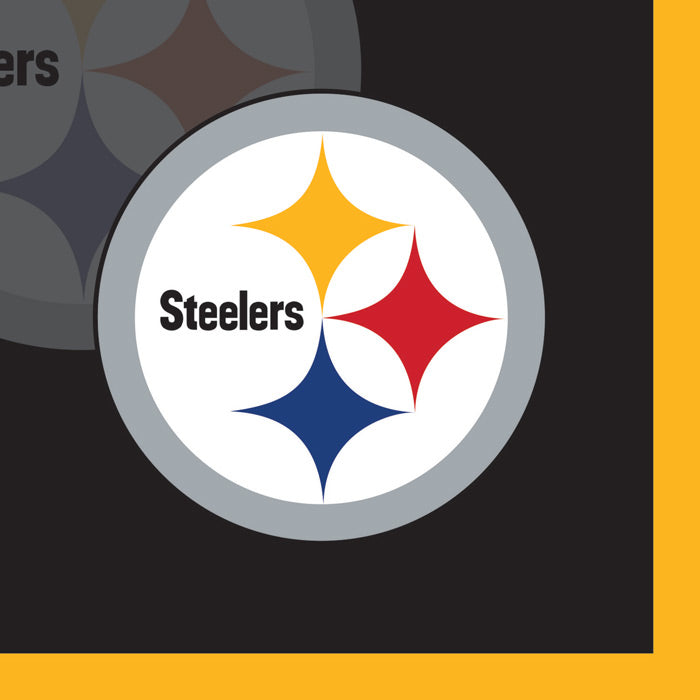 Pittsburgh Steelers Beverage Napkins, 16 ct by Creative Converting