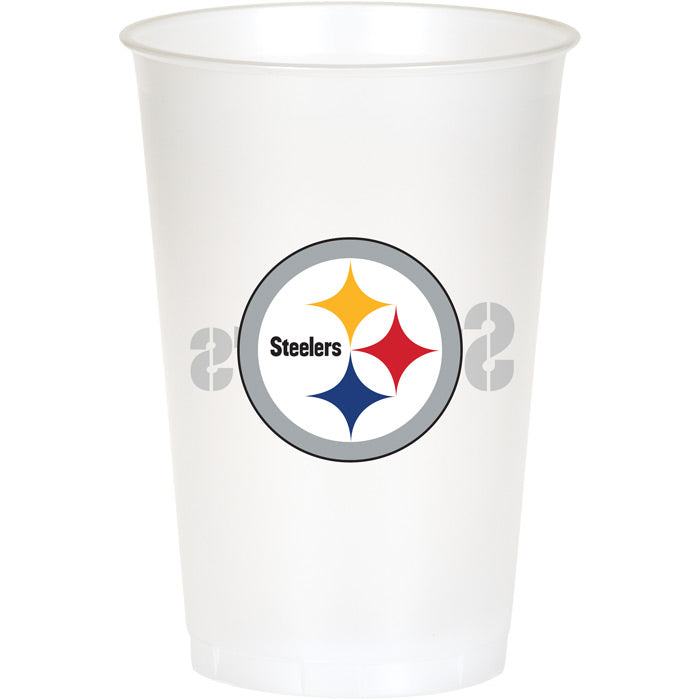 Pittsburgh Steelers Plastic Cup, 20Oz, 8 ct by Creative Converting