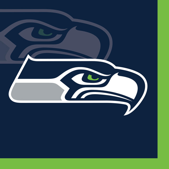 Seattle Seahawks Beverage Napkins, 16 ct by Creative Converting